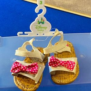 5/$25💥NWT Disney Minnie Mouse Sandals Size 3
